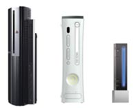 PS3, Xbox 360, and Wii